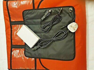 Pizza Bag HEATED Supplied with car & mains adapter 48 x 50 cm FITS 5 LARGE Pizza