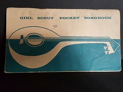 Excellent 1956 Girl Scout POCKET SONGBOOK Official GSUSA Collectors Leaders
