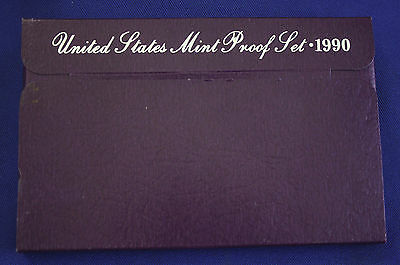 1990-s  U.S.Proof set. Genuine. complete and original as issued by US Mint.