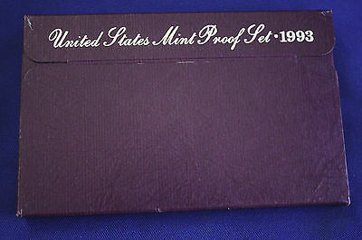 1993-s  U.S.Proof set. Genuine. complete and original as issued by US Mint.