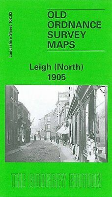 Old Ordnance Survey Map Leigh (North) 1905