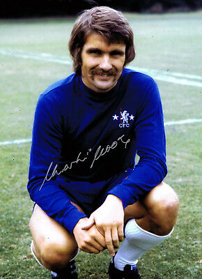 Charlie COOKE SIGNED Chelsea FC 16x12 Photo AFTAL Autograph COA