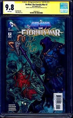 He-Man Eternity War #7 CGC SS 9.8 signed Alan Oppenheimer + INSCRIBED SKELETOR