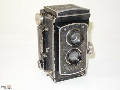 6x6 Tlr Camera Foth Foth Flex Lens Anastigmat 1:3,5 F=75mm (Collector 1933)