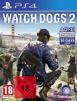 Watch Dogs 2 - PS4 Playstation 4 Spiel - NEU OVP deutsch Neuware