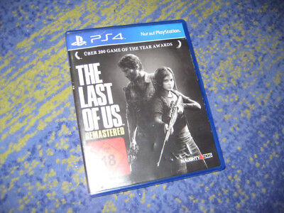 PS4 Spiel THE LAST OF US - REMASTERED in OVP deutsch