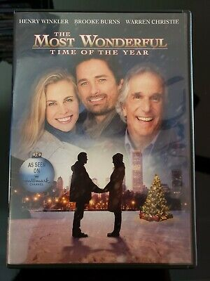 'the Most Wonderful Time Of The Year' Henry Winkler Brooke Burns Dvd Like New