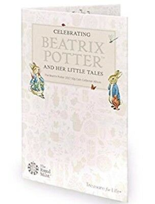 Royal Mint 2017 Beatrix Potter 50p Collector Album. New.