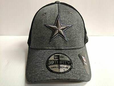 finest selection 220f8 a60e9 Dallas Cowboys Cap New Era 39Thirty Stretch Mesh Heather Front Neo Hat NFL