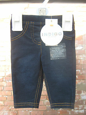 New With Tags Marks & Spencer Denim Flow Jogging (Trousers)  Upto 3 Months