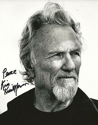 Kris Kristofferson REAL hand SIGNED Photo #4 Autographed w/ EXACT PROOF