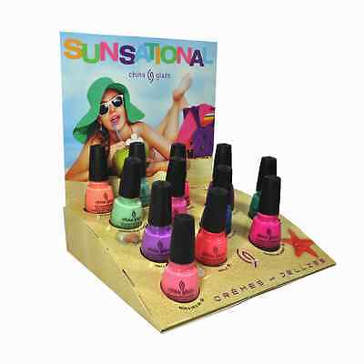 China Glaze Nail Polish Lacquer Sunsational Collection 0.5floz/14ml
