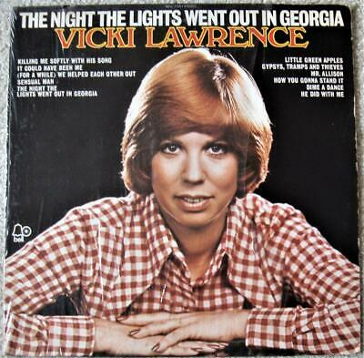 Vicki Lawrence - The Night the Lights Went Out in Georgia LP - 1973 Bell - VG+