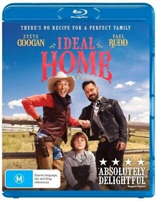Ideal Home (Blu-ray, 2018) BRAND NEW AND SEALED Region 4