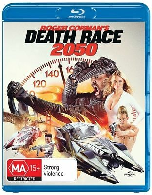 Death Race 2050 (Blu-ray, 2017) BRAND NEW AND SEALED Region 4