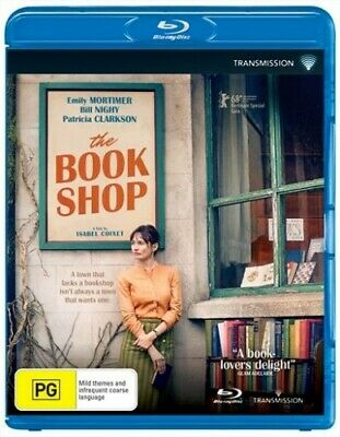 The Bookshop (Blu-ray, 2018) BRAND NEW AND SEALED Region 4