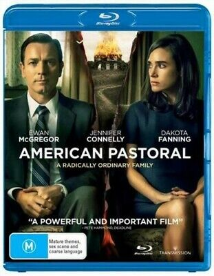 American Pastoral - Blu Ray Region 4 BRAND NEW AND SEALED