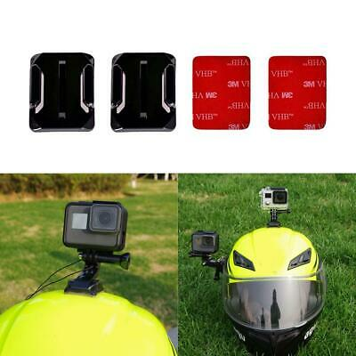 3M Adhesive Sticky Pads Mount Sticker fit GoPro Hero 5 4 3+ 3 Curved Base Helmet