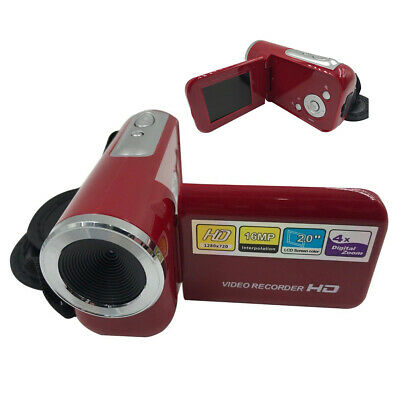 Mini Digital Camera DV Camcorder 2.0″ LCD 4X Zoom Kids Children Xmas Gift 16MP