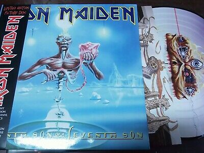 """IRON MAIDEN - Seventh Son Of A Seventh Son, LP 12"""" EUROPE 2013 PICTURE DISC MINT"""