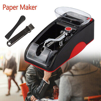 Red Electric Automatic Cigarette Injector Rolling Tobacco Maker Roller Machine