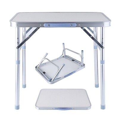 Small Portable Fold Away Up Camping Picnic Table Kitchen Outdoor Garden Dining