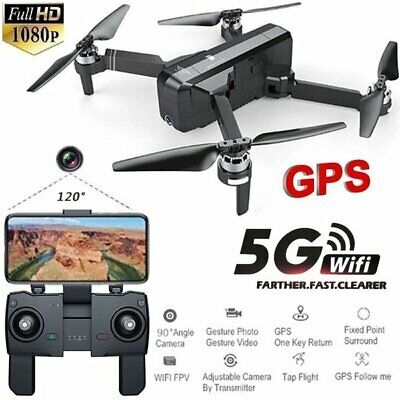 SJRC F11 GPS RC Drone Foldable Quadcopter With 5G WiFi FPV 1080P HD Camera AU