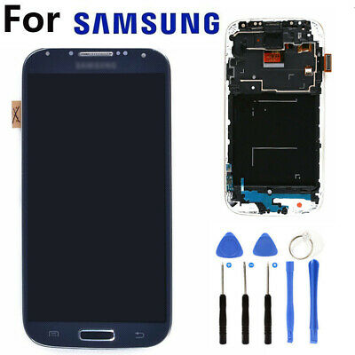 For Samsung Galaxy S4 i9505 Black Display LCD Touch Screen Digitizer Replacement