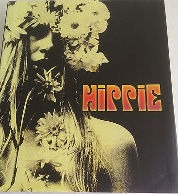 Hippie By Barry Miles Between the Years 1965-1971 Sterling Publishing Oversized