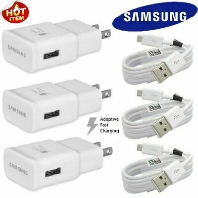NEW Original Adaptive Rapid Fast Charger for Samsung Galaxy Note 4 5 S6 S7 EDGE