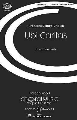 Ubi Caritas (CME Conductor's Choice) SATB a cappella composed by Imant Raminsh