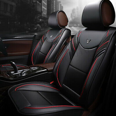 Deluxe 6D Full Surrounded 5 Seat Cover Cushion Protect Front Rear Car SUV Truck