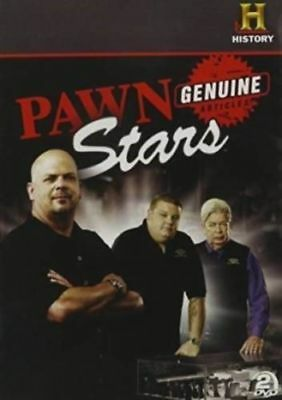 Brand New Factory Sealed Pawn Stars: Genuine Articles (DVD, 2013, 2-Disc Set)
