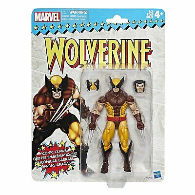 Marvel Legends Vintage Wave 1 Actionfigur: Wolverine