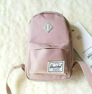 f80e270ae4e Herschel Supply Co Heritage (Mini) Backpack Ash Rose Silver Reflective