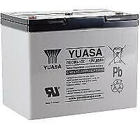 Yuasa REC80-12i 12V 80Ah High Performance Heavy Duty Cyclic Mobility Batterie
