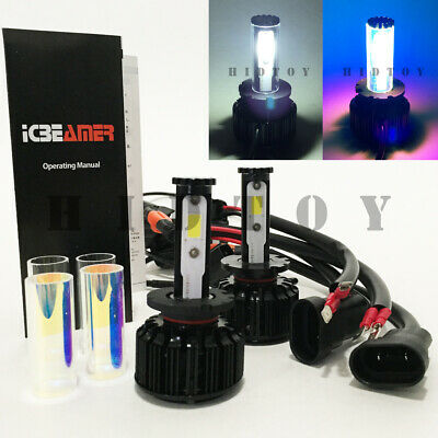 D4S D4C D4R D4 CREE LED COB 6000K White 10000K Blue All in One Kit #Gd1 Low Beam