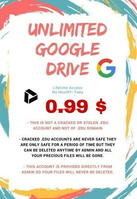 ⚡🔥unlimited Google Drive On Existing Acc 1+1 Free For Life