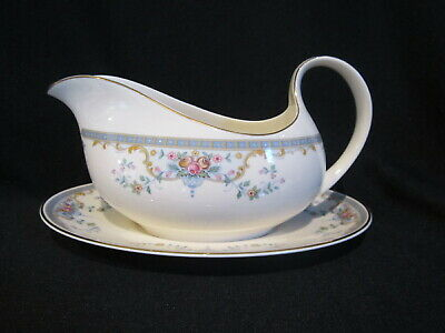Royal Doulton JULIET H5077 - Gravy Boat and Stand