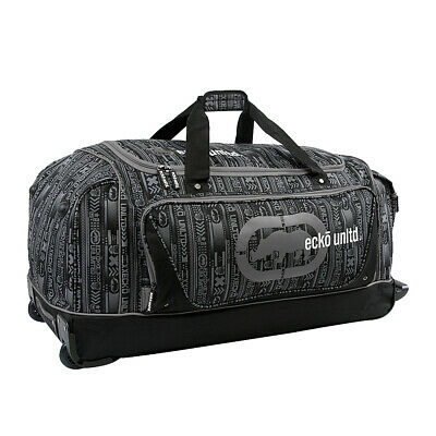 Ecko Unltd Steam Large Rolling Duffel 2 Colors