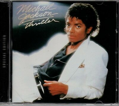 MICHAEL JACKSON - Thriller - CD Album *Special Edition* *Bonus Tracks*