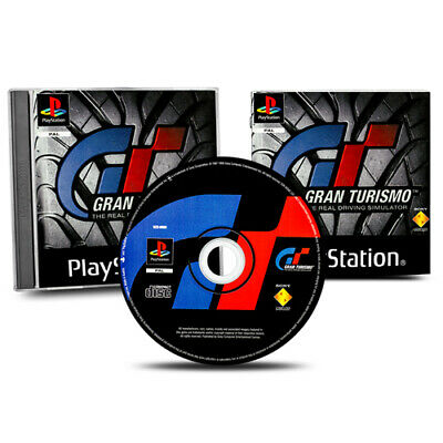 PS1 Spiel GRAN TURISMO : THE REAL DRIVING SIMULATOR in OVP mit Anleitung