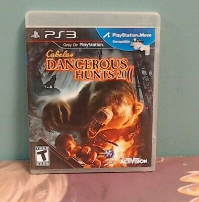 Cabela's Dangerous Hunts 2011 (Playstation 3) Sony Playstation 3 CIB Complete