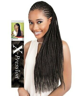 (2 PACK) XPRESSION Ultra BRAID HAIR EXTENSION