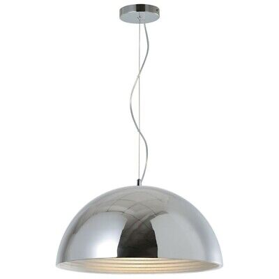 "Paris Prix - Lampe Suspension Design ""mads"" 50cm Chrome"