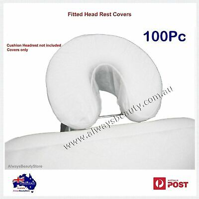 Disposable Massage Table Fitted Face Head Rest Cushion Circle Cover 100Pc