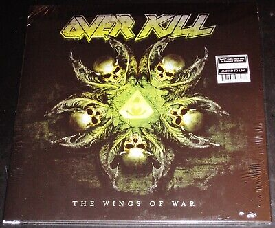 Overkill: The Wings Of War LP Grey Color Vinyl Record 2019 Nuclear Blast USA NEW