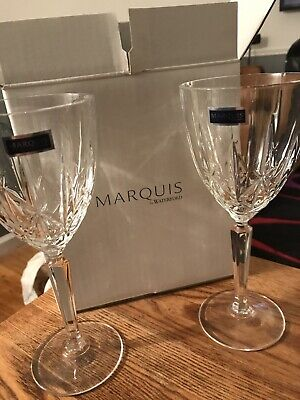 Marquis by Waterford Newberry Crystalline Glasses Goblet
