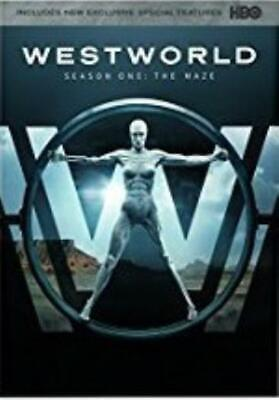 Westworld: Season One: The Maze First 1st 3-Disc Set DVD VIDEO MOVIE TV show HBO