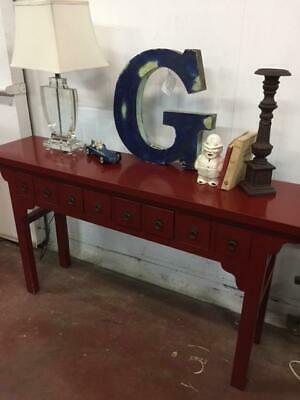 F9020 Vintage Style Chinese Altar Table Sideboard Hall Table